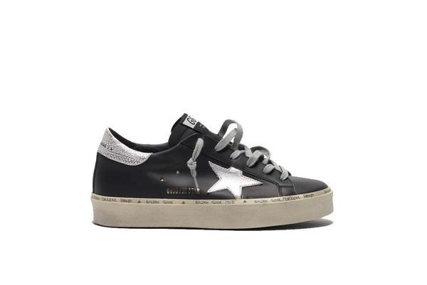 Golden Goose Hi Star Sneakers - Black