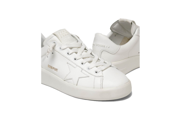 Golden Goose Pure Star Sneaker - White/White