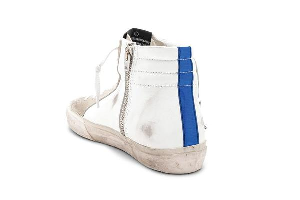 Golden Goose Leather Slide Sneaker - White