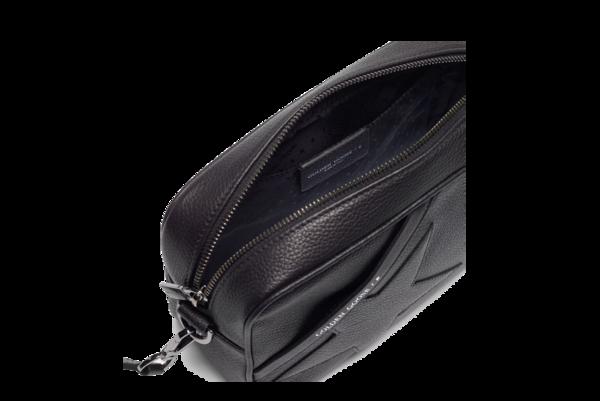 Golden Goose Star Grained Calf Skin Bag - Black/Black