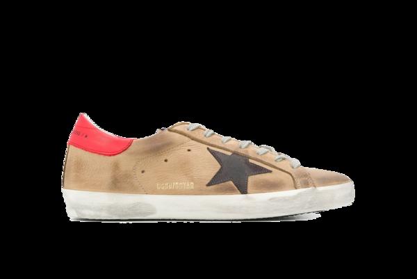 Golden Goose Superstar Sneaker - Incense Nabuck/Suede Star