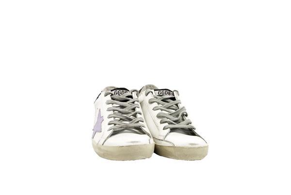 Golden Goose Superstar Sneakers - Cocco Glitter/Lavender Star