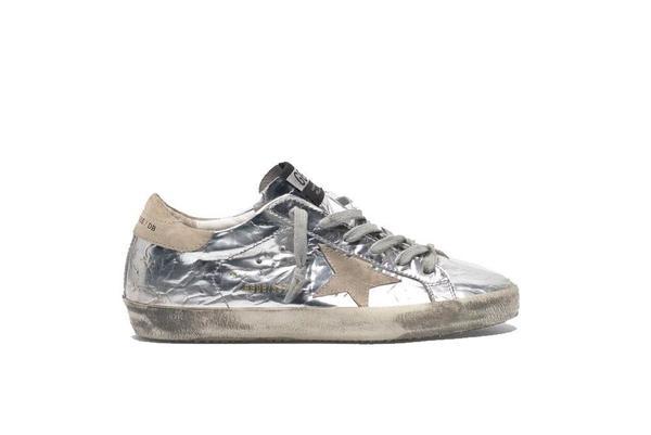 Golden Goose Superstar Sneakers - Silver/Ice Star