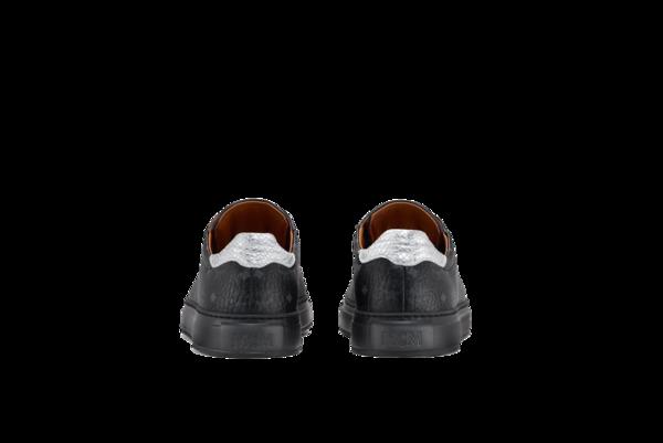 MCM Low Top Classic Court Sneakers - Visetos Black