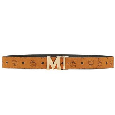 "MCM Reversible 51"" M Belt - Cognac"