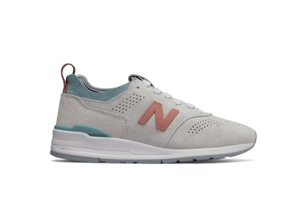 New Balance Sneaker - Grey/Turquoise