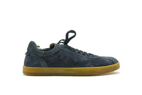 Officine Creative Oliver Blue Print Karma Sneaker - Blue
