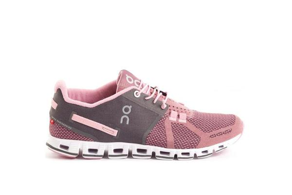 ON running Cloud Sneaker - Charcoal/Rose