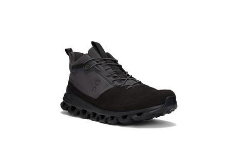ON running Cloud Hi Edge Edge Sneaker - Black