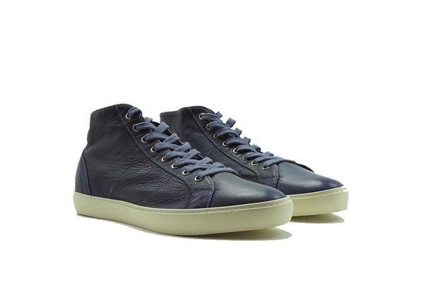 Pantofola D'Oro Del Bello Mid Nappa Sneaker - T.C Navy