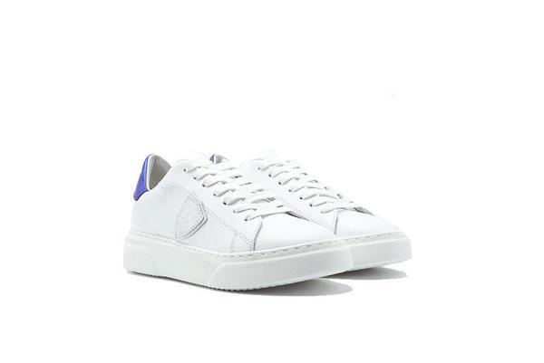 Philippe Model Temple Sneaker - White/Blue