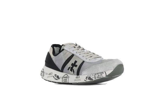 Premiata Hanzo Sneaker - Cream/Black