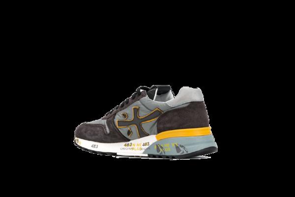 Premiata Mick Sneaker - Brown/Yellow