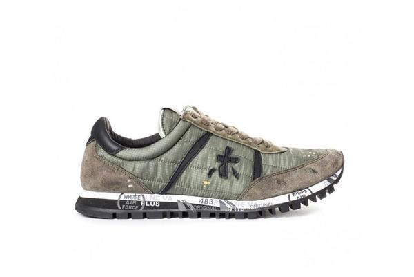 Premiata Sean Sneaker - Olive/Green