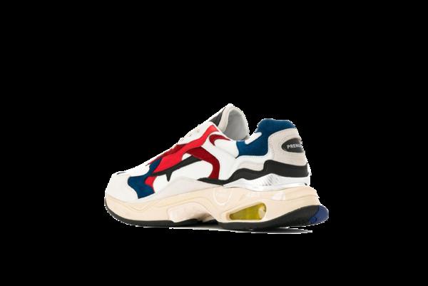 Premiata Sharky Sneaker - Blue/Red