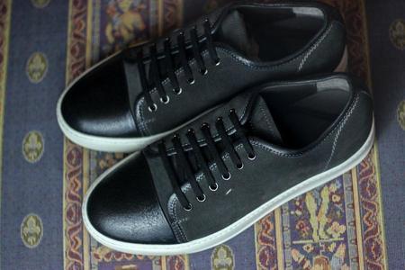 Santoni Acadia Sneakers - Black