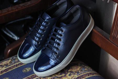 Santoni Acadia Sneaker - Black