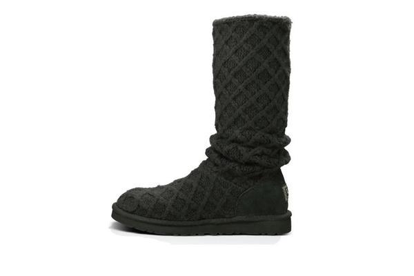 UGG Lattice Cardy Boots - Black