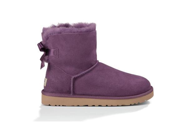 UGG Mini Bailey Bow Boots - Anemone