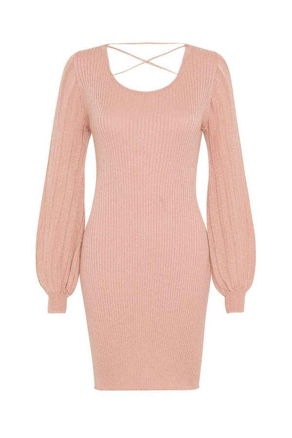 SPELL & THE GYPSY COLLECTIVE Margot Knit Mini Dress - Rose