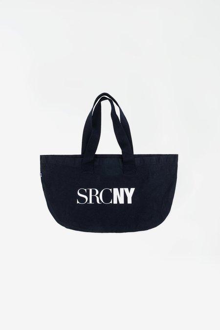 Sporty & Rich SCRNY Tote bag - navy/white