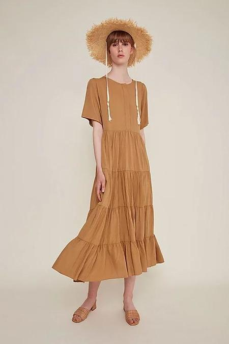 Rita Row Pia Dress - Latte