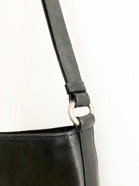 [Pre-Loved] Prada Leather Shoulder Bag - Black