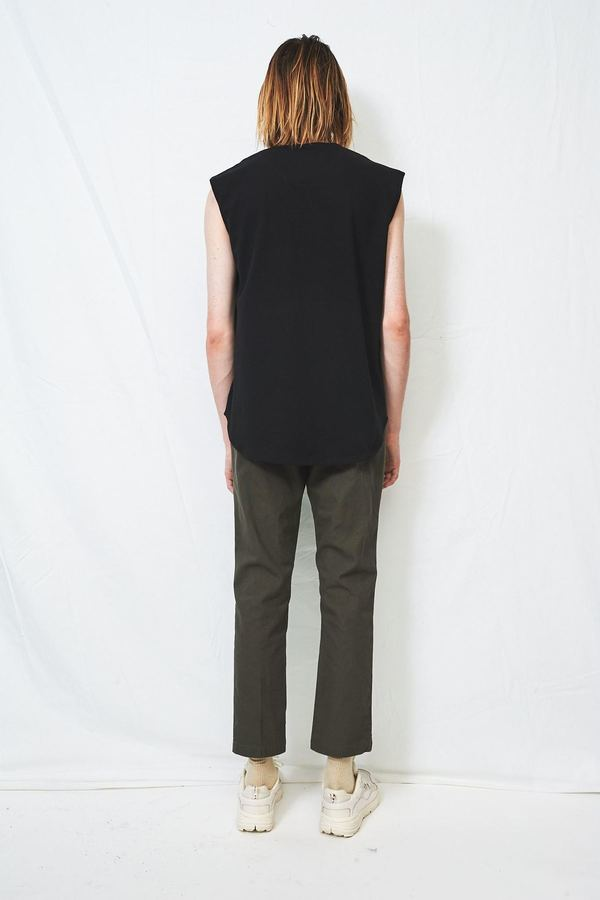 Assembly Cotton Pique Muscle Tee