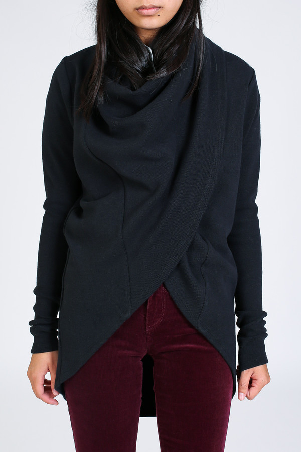 Ursa Minor Tabard cardigan in black