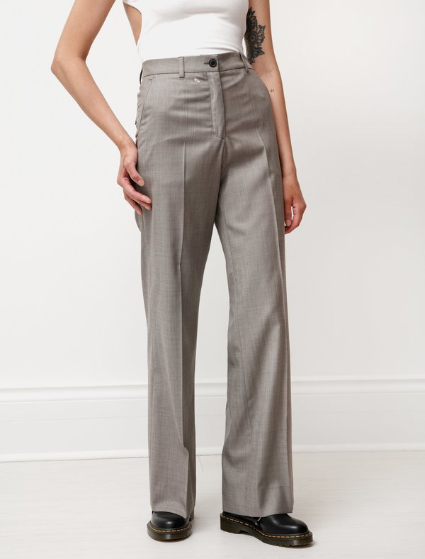 Our Legacy Soul Wool Trouser - Stone
