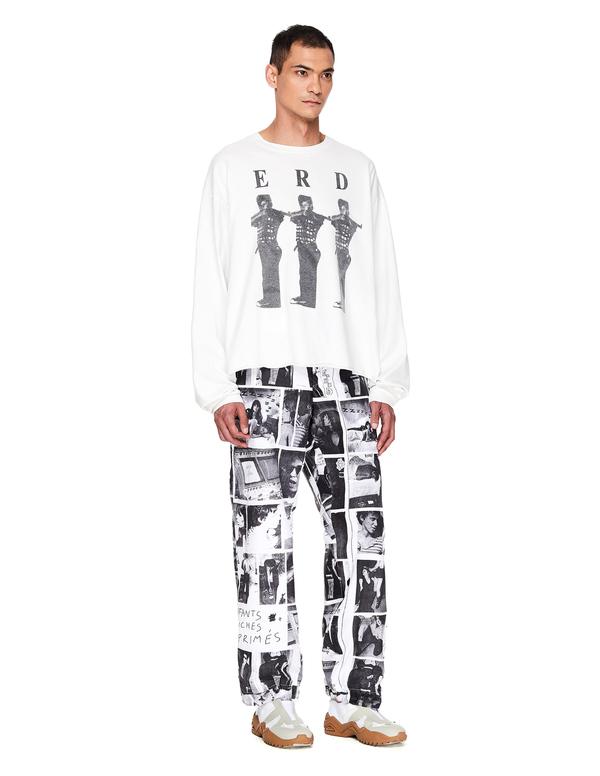 Enfants Riches Deprimes Photo Printed Trousers