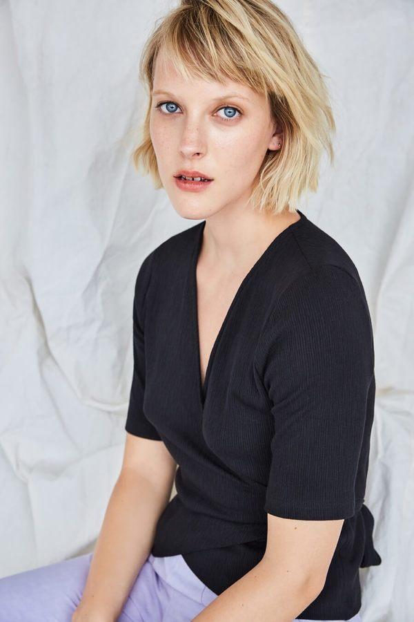 Eve Gravel Corrida Top - Black
