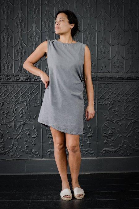 Pamela Mayer Busatti Drape Tunic - charcoal