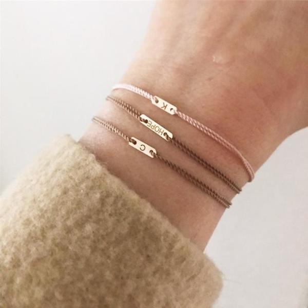 Hortense Love ID Cord Bracelet