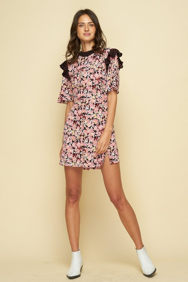 Rue Stiic TURNER DRESS - Monet Floral Print