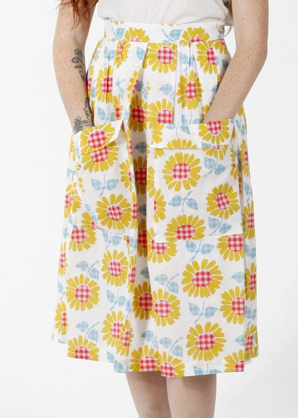 Saint Geraldine Double Pocket Skirt