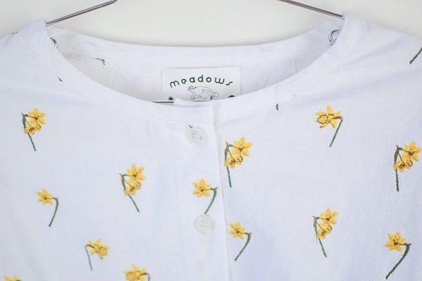 Meadows Bouquet Shirt - Daffodil