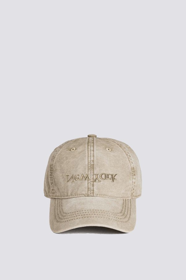 Assembly New York Embroidered Hat - Washed Khaki