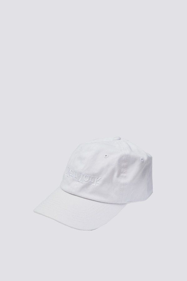 Assembly New York Embroidered Hat - White