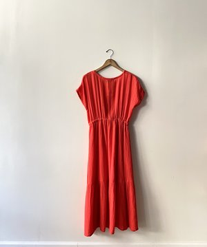 Michael Stars Illana Surplice Midi Dress