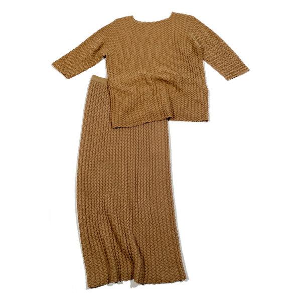 Lauren Manoogian Origami Skirt - Tan