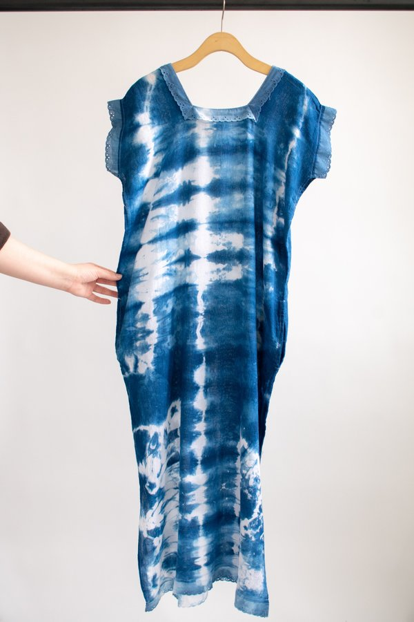 Conrado Lorena Kaftan Dress #2 - Indigo