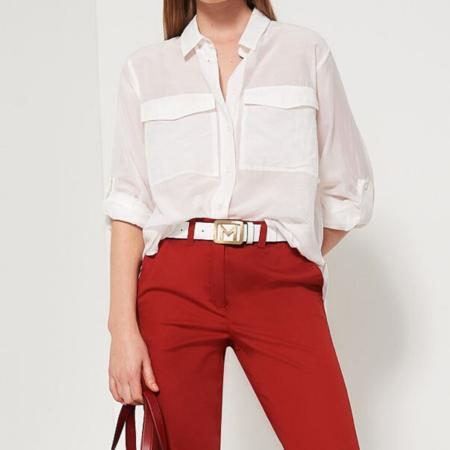 Marella Pincio Shirt - Optical White
