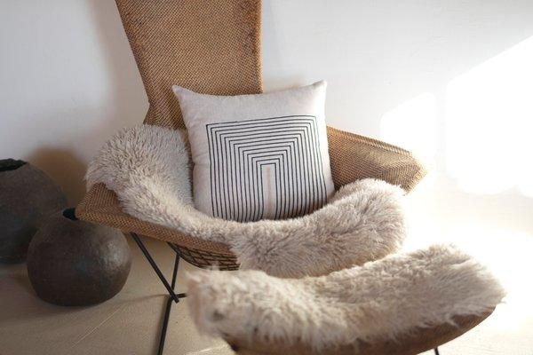 Kesslyr Dean Stevie Block Print Pillow