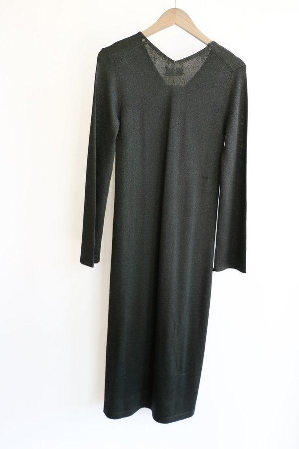 [pre-loved] M.Patmos Tajah Dress - Black Glitter
