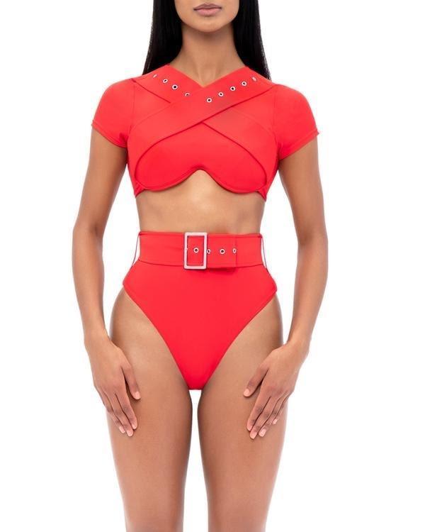 Andrea Iyamah Kamari High Waist Bikini