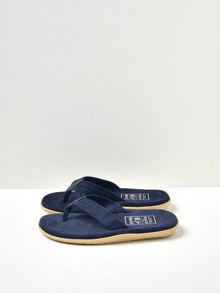 Island Slipper Classic Ultimate Suede Sandals - Navy