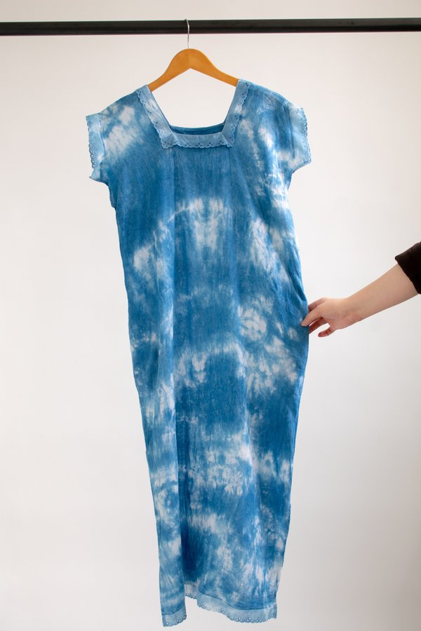 Conrado Lorena Kaftan Dress #3 - Indigo