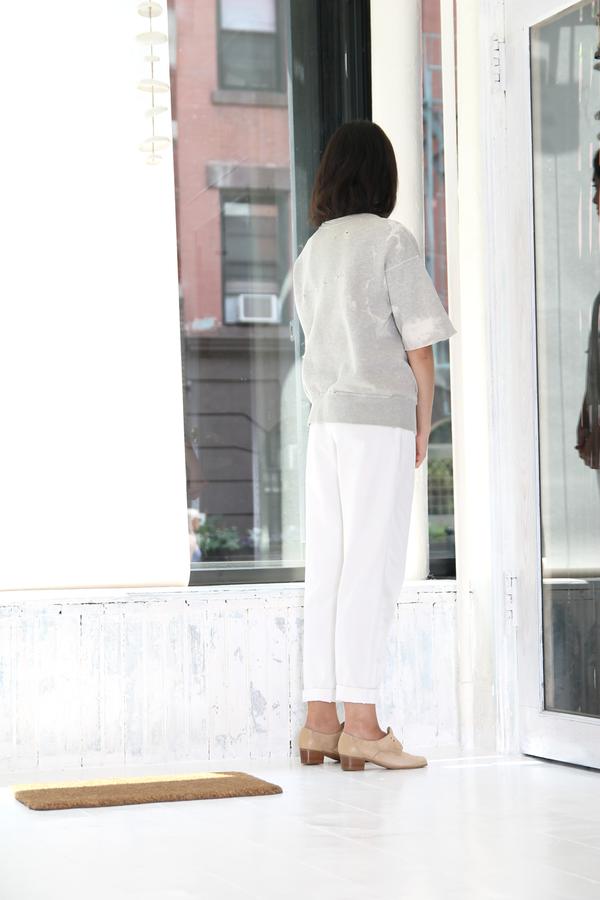 DUO NYC Vintage Escada White Trousers