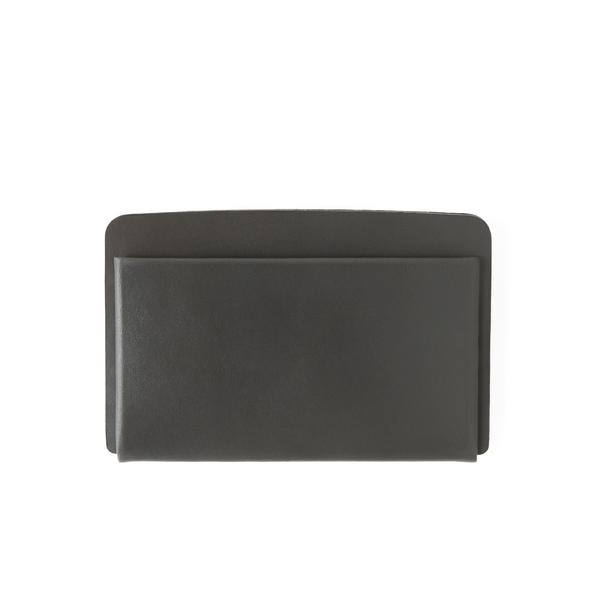 MAKR Loop Landscape Cardholder - Gunmetal Horween® Chromexcel® Leather